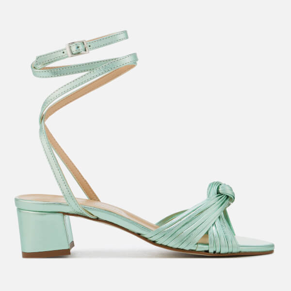 Rebecca Minkoff Women's Rosalinda Block Heeled Sandals - Green
