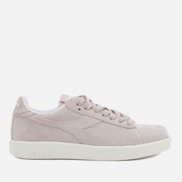 Diadora Women's Game Wide Nubuck Trainers - Violet Hushed