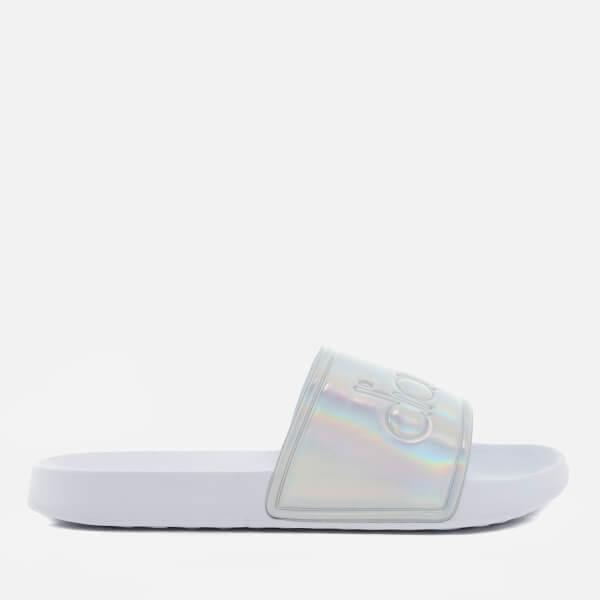 e9ee11fdfd9e Diadora Women s Serifos  90s Slide Sandals - Silver  Image 2