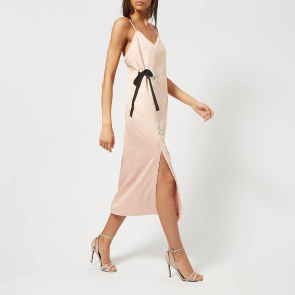 Free Shipping View With Mastercard Sale Online Slim Pin dress - Nude & Neutrals Three Floor Manchester Great Sale Online Discount Prices Cheap Fake 6tyN8pvH