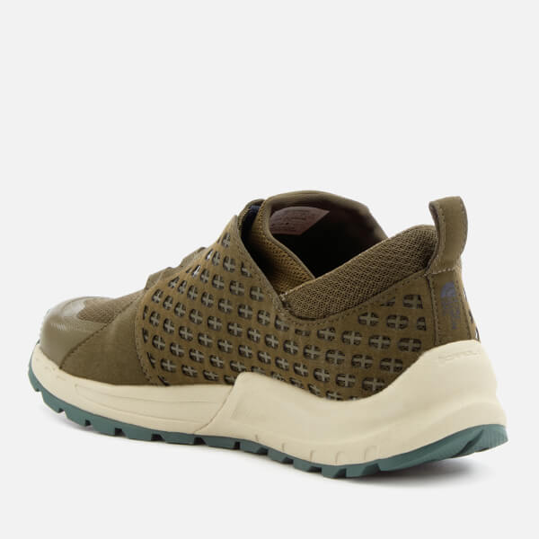 The North Face Mountain Sneakers in Green/Navy 5CACKN0