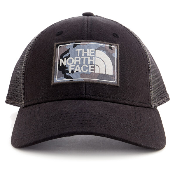 The North Face Mudder Trucker Hat - TNF Black Asphalt Grey Camo  Image 1 afa929acee6a