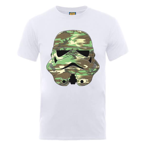 Star Wars Stormtrooper Camo T-Shirt - White