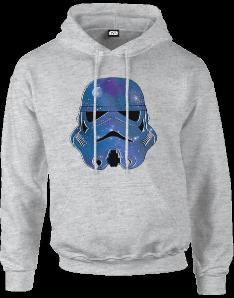 Star Wars Space Stormtrooper Pullover Hoodie - Grey