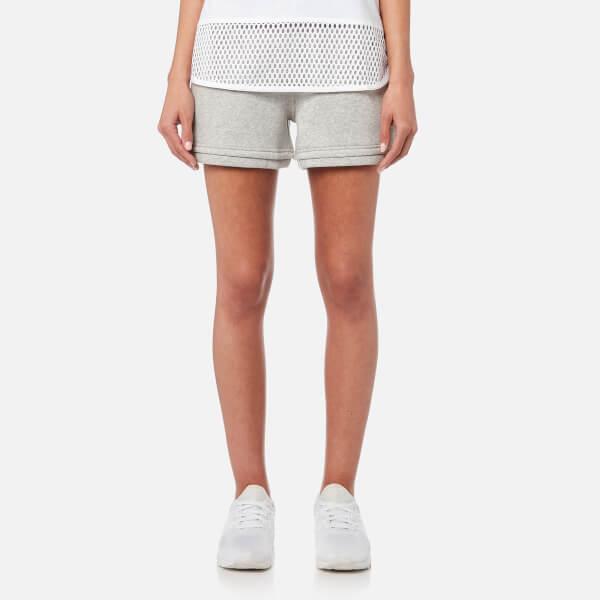 adidas by Stella McCartney Women's Essential Knit Shorts - Marble Grey Heather