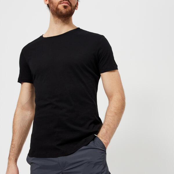 Orlebar Brown Men's OBT Crew Neck T-Shirt - Black