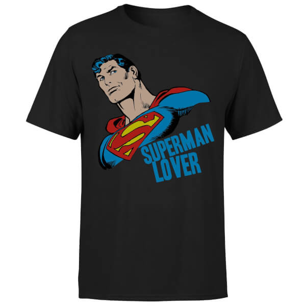 DC Comics Superman Lover T-Shirt - Black