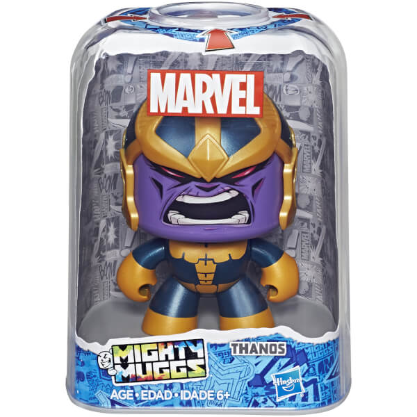 Marvel Mighty Muggs - Thanos Toys | Zavvi