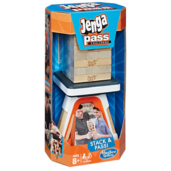 Hasbro Gaming Jenga Pass Challenge