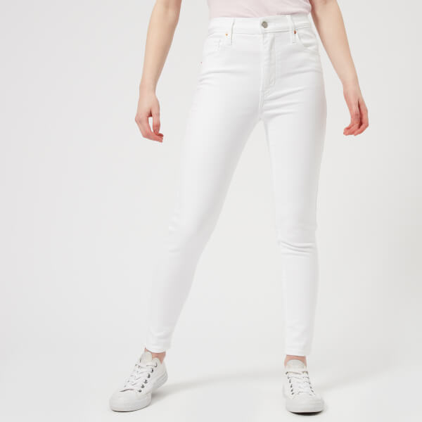 200617f1cb6 Levi s Women s Mile High Ankle Skinny Jeans - Western White Clothing ...