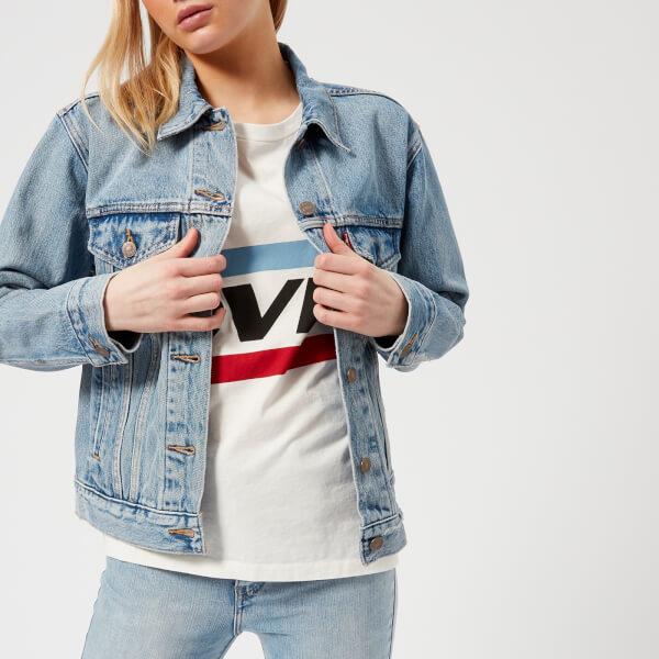 Levi's Women's Ex-Boyfriend Trucker Jacket - Indigo Anthem
