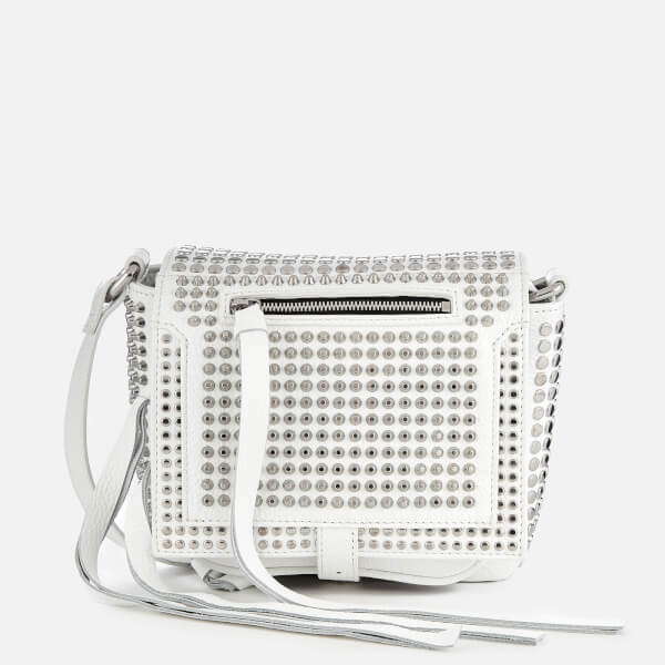 28de11764d37 McQ Alexander McQueen Women s Mini Cross Body Bag - White  Image 1