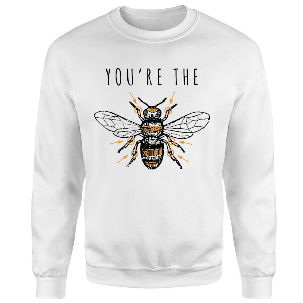 You're The Bees Knees Sweatshirt - White