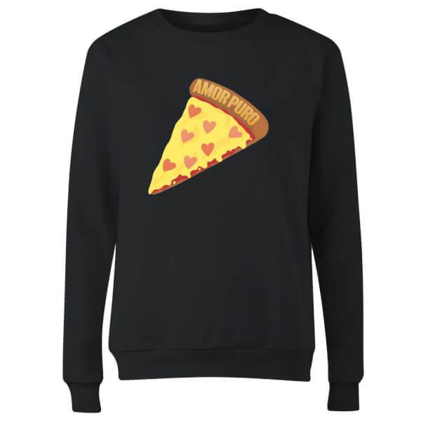 Amor Puro Women's Sweatshirt - Black