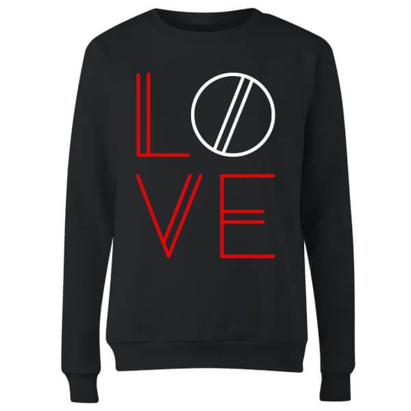 Love Geo Women's Sweatshirt - Black
