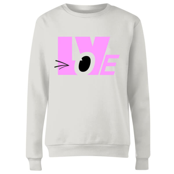 Love Wink Women's Sweatshirt - White