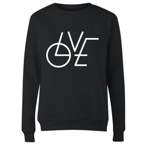 LOVE Modern Women's Sweatshirt - Black