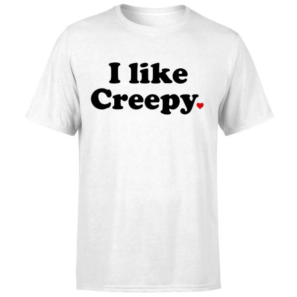 I Like Creepy T-Shirt - White