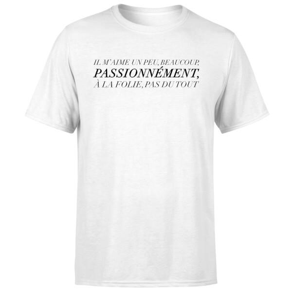 Passionnément T-Shirt - White