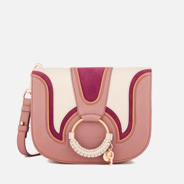 See By Chloé Women's Hana Medium Contrast Cross Body Bag - Nougat