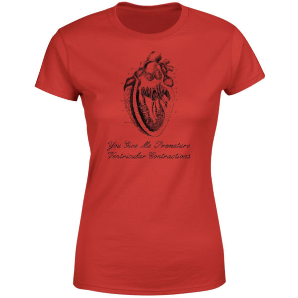 Premature Ventricular Contractions Women's T-Shirt - Red