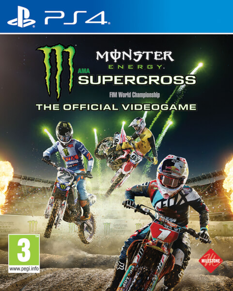 monster energy supercross ps4 zavvi. Black Bedroom Furniture Sets. Home Design Ideas