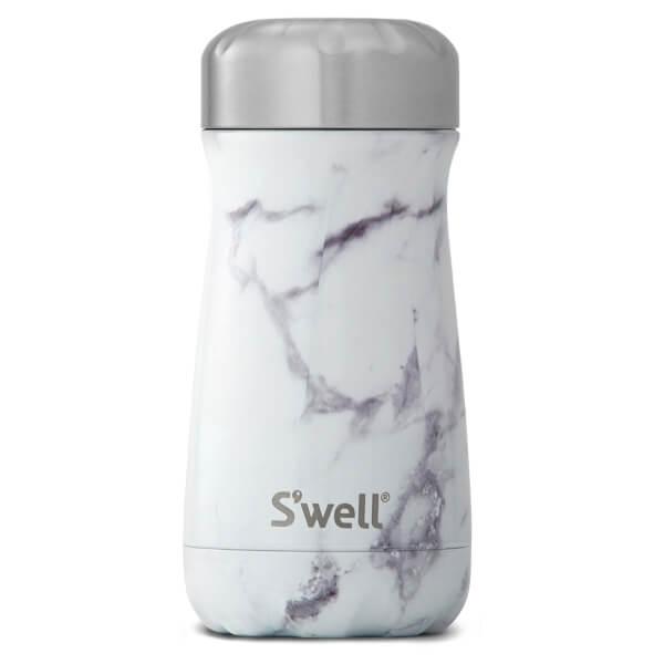 S'well The White Marble Traveller Bottle 350ml