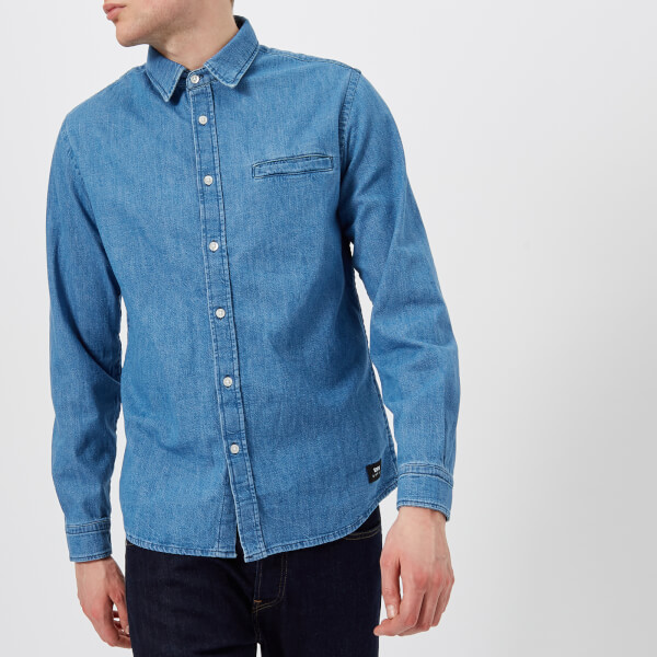 Edwin Men's Better Shirt - Light Stone Wash