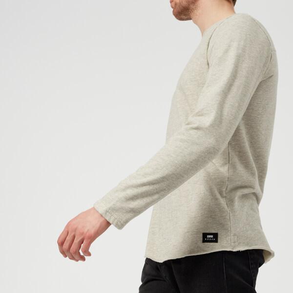 Edwin Men's Terry Long Sleeve T-Shirt - Grey Marl