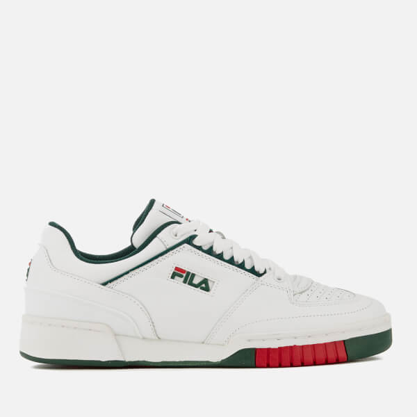 FILA Men's Targa Trainers - White/Green