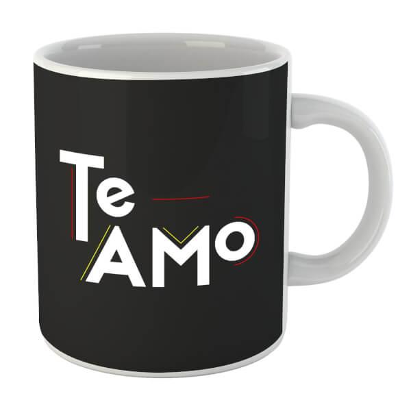 Te Amo Block Mug
