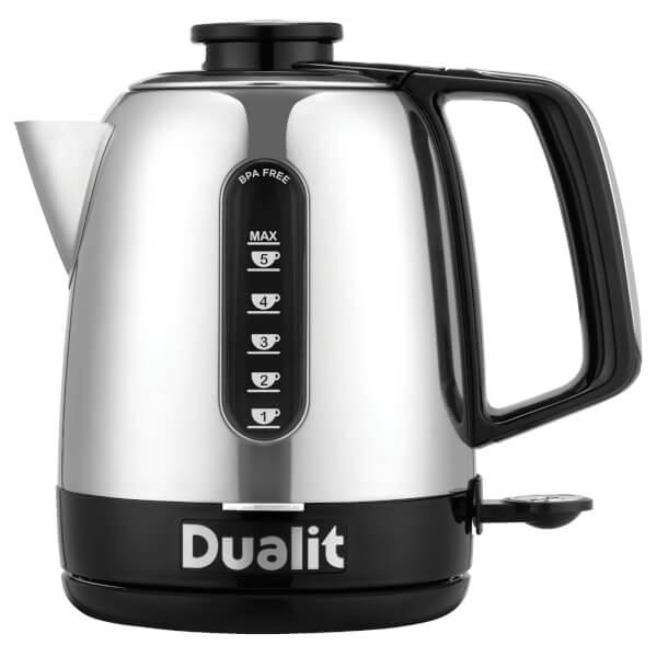 Dualit 72310 Domus Jug Kettle 1.5L - Polished Steel/Black