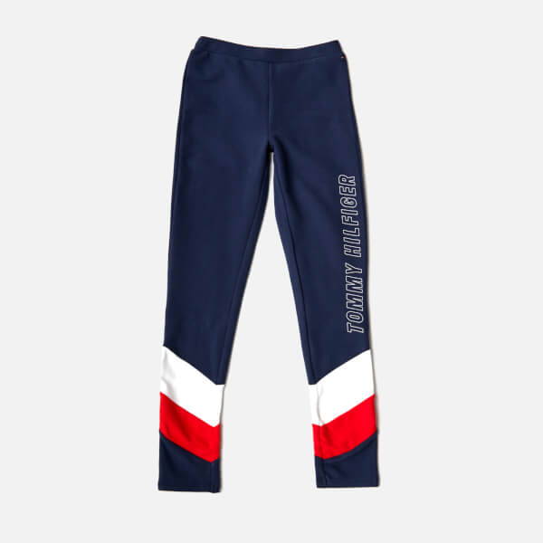 310e6d709f Tommy Hilfiger Girls  Colourblock Leggings - Black Iris Clothing ...