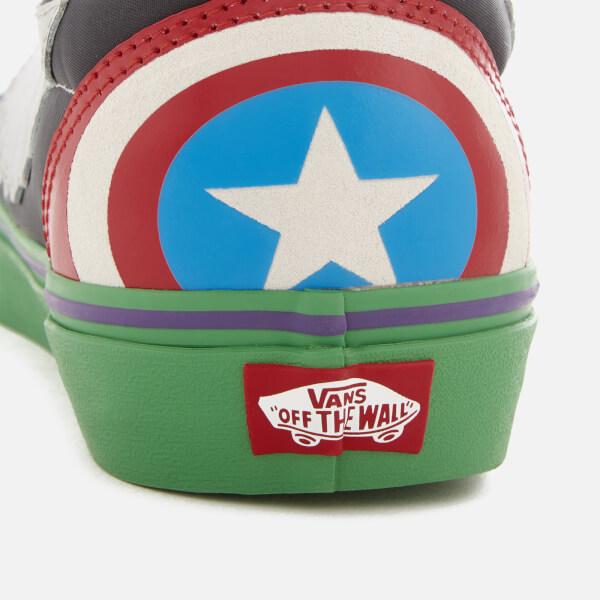 Vans Marvel Avengers Old Skool Trainers - Avengers Multi  Image 4 e6674b022