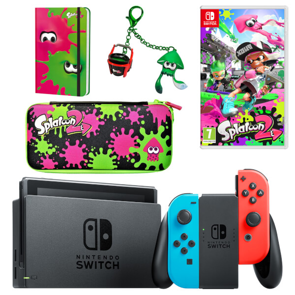 nintendo switch splat pack nintendo official uk store. Black Bedroom Furniture Sets. Home Design Ideas