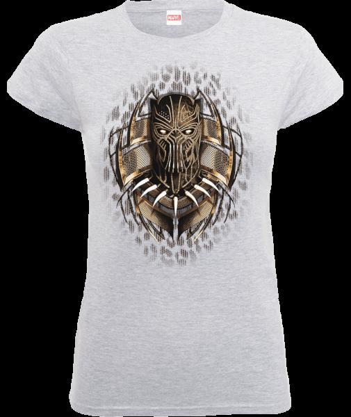Black Panther Gold Erik Women's T-Shirt - Grey