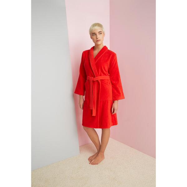 78d4356e6d KENZO Iconic Bathrobe - Red Clothing