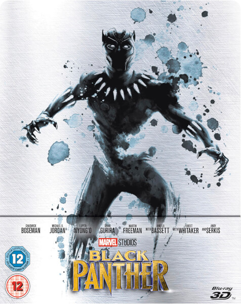 Black Panther Blu-ray Steelbook Zavvi