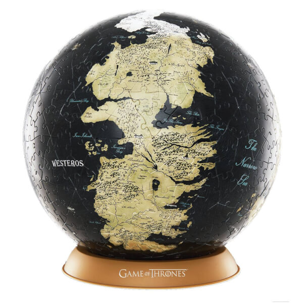 Game of thrones 3d globe puzzle unknown world 540 pieces toys game of thrones 3d globe puzzle unknown world 540 pieces gumiabroncs Choice Image