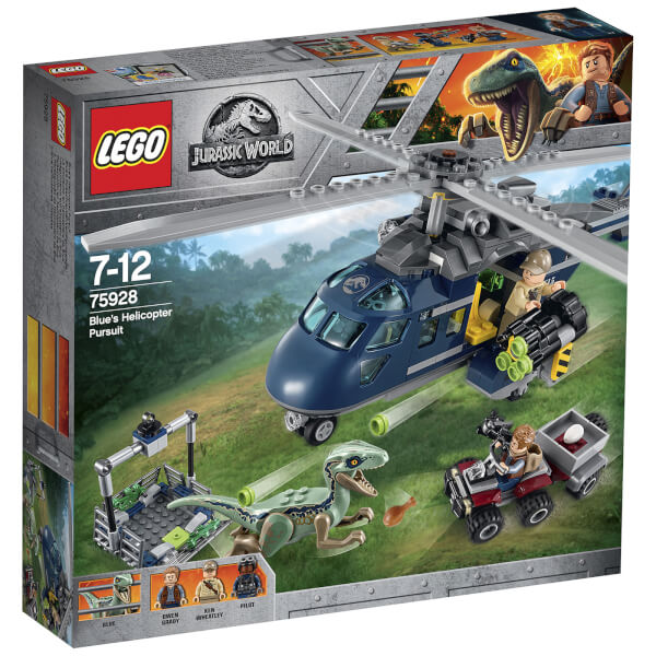 LEGO Jurassic Fallen Kingdom: Blue's Helicopter Pursuit (75928)