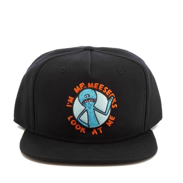 Rick and Morty Men's Rick SB Patch Hat - Black
