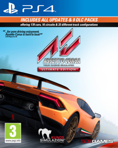 assetto corsa ultimate edition ps4 zavvi. Black Bedroom Furniture Sets. Home Design Ideas