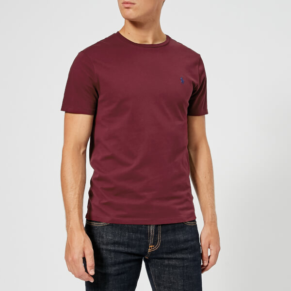792076457a9a ... cheap polo ralph lauren mens custom slim fit t shirt classic wine image  1 eb956 e1d8a