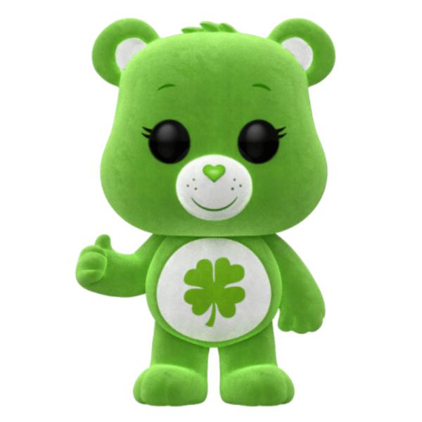 Care Bears Good Luck Bear Flocked EXC Pop! Vinyl Figure