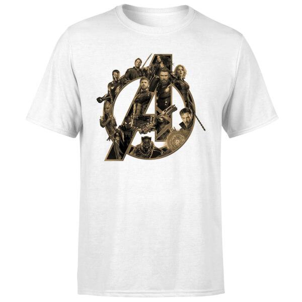 Marvel Camiseta para Hombre Avengers Infinity War 39fBzo