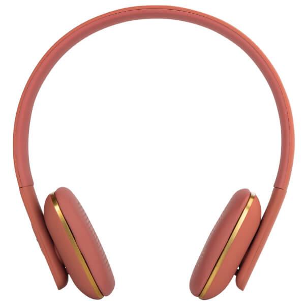 Kreafunk aHEAD Bluetooth Headphones - Soft Coral