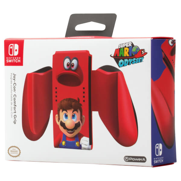 Nintendo Switch Joy-Con Comfort Grip (Super Mario Odyssey)