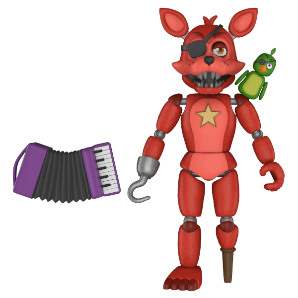 Five Nights at Freddy's Pizza Simulator Rockstar Foxy Action Figure
