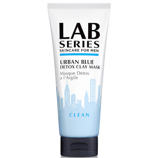 Lab Series Skincare for Men Urban Blue Detox Clay Mask
