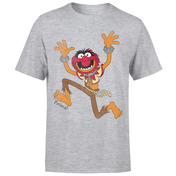 Disney Muppets Animal Classic T-Shirt - Grey